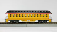 HO Old Time 18801920 Western & Atlantic Coach Yellow