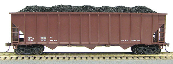 HO 100 Ton Coal Hopper (R.T.R.) Conrail Data Only Red (0119301)