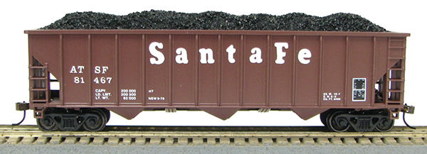 HO 12panel Hopper SANTA FE (1019308)