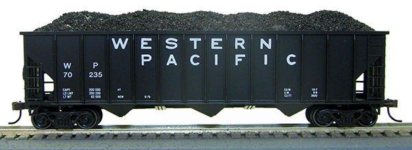 HO 12panel Hopper Western Pacific (1-019319)