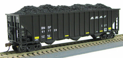 HO 15Panel Hopper BNSF BLACK SWOOSH (1019366)