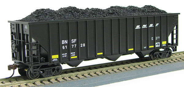 HO 15Panel Hopper BNSF BLACK SWOOSH (1019366)