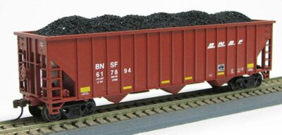HO 15panel Hopper BNSF SWOOSH OXIDE COAL (1019367)