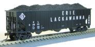 HO 15panel Hopper Erie Lackawanna (1019360)