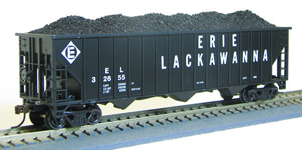 HO 15panel Hopper Erie Lackawanna (1019360)