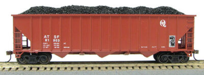 HO 15panel Hopper Santa Fe (Q) (1019365)