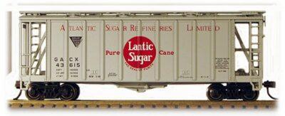 HO 2600 Cu Ft Airslide Covered Hopper (R.T.R.) Atlantic Sugar (01-97058)