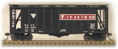 HO 2600 Cu Ft Airslide Covered Hopper (R.T.R.) Firestone (01-97060)