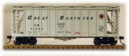 HO 2600 Cu Ft Airslide Covered Hopper (R.T.R.) Great Northern (01-97057)