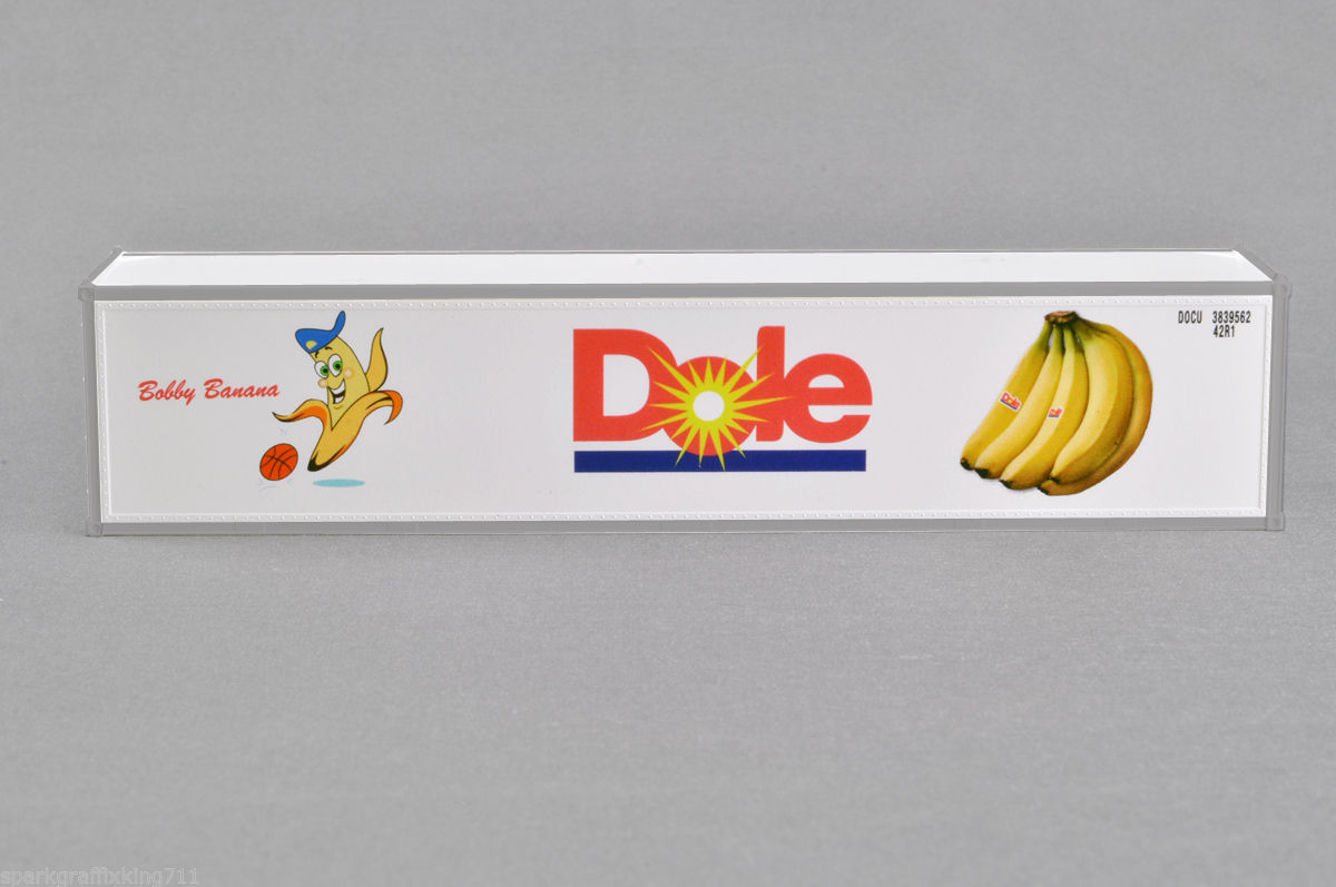 HO 40 Ft Dole Refrigerated Container Bobby Banana with basketball (4-83003)