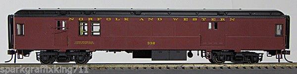 HO BCS Norfolk & Western Baggage-Mail Tuscan Scheme 0001-094332 (01) #330