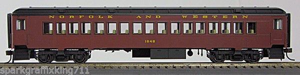 HO BCS Norfolk & Western Coach Tuscan Scheme 0001-094232 (01) #1648