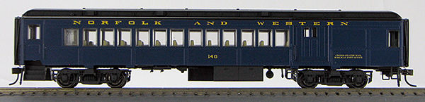 HO BCS Norfolk & Western Combine Pevler Blue Scheme 0001-094384