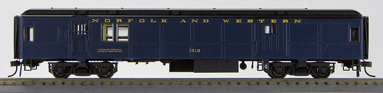 HO BCS Norfolk & Western Solarium Pevler Blue Scheme #221 (1-094434)