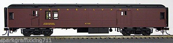 HO BCS Pennsy Futura Baggage-Mail Futura Scheme 0001-094331 (02) #4711