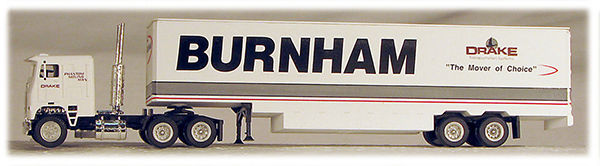 HO Burnham Trucking 18 Wheeler (41103)