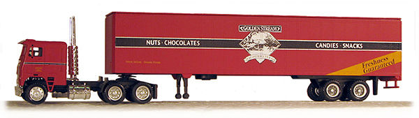 HO Golden Steam Candy 18 Wheeler (41104)