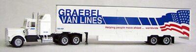 HO Graebel Moving Van 18 Wheeler (4-1098)