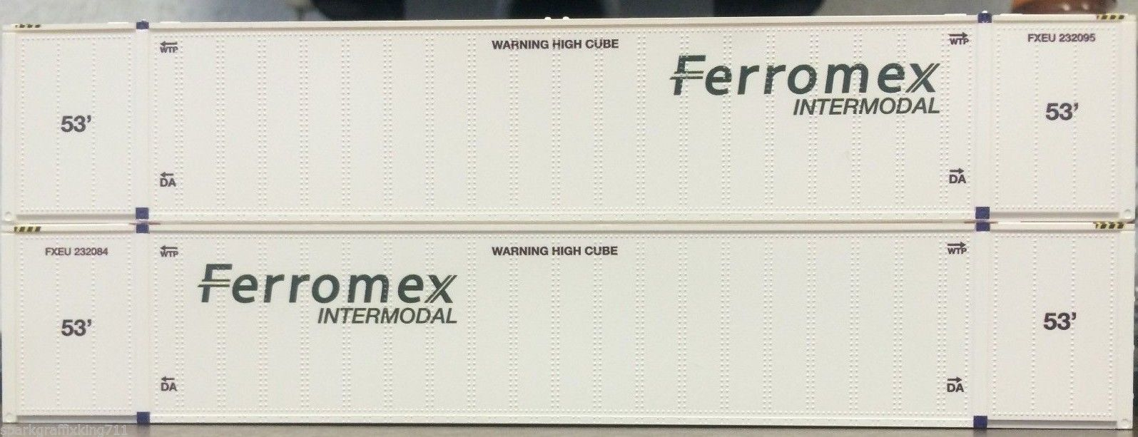 HO HI-CUBE 53FT CONTAINER FERROMEX INTERMODAL 2PK 0004-088023 (01)