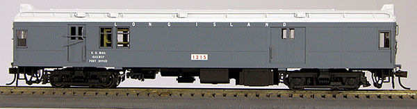 HO Long Island, Grey, Pwd Baggage Mail MUmP54 (1-094529)