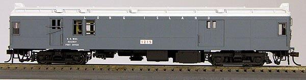 HO Long Island, Grey, Pwd Baggage Mail MUmP54 (1-094529)