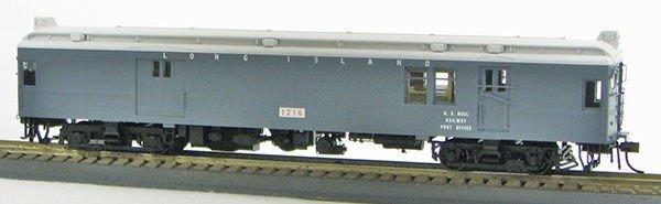 HO Long Island Grey non-powered Baggage-Mail MUmP54 (1-94583)