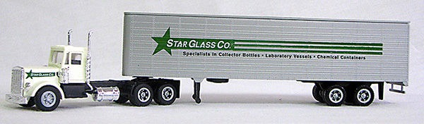 HO Star Glass Dry Van 18 Wheeler (4-2019)