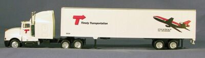 HO Timely Transport 18 Wheeler (4-9507)