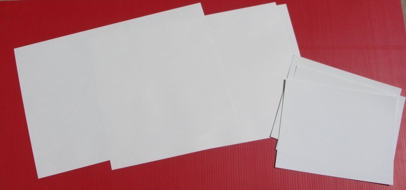 Klingables 16 pc 13x9.5 Woven Fabric Printer Paper 7-000006