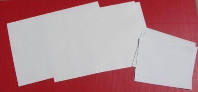 Klingables 40 pc 8.5x11 Woven Fabric Printer Paper 7-000007