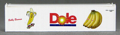 N 40 Ft TK Reefer Container Dole/Bobby BananaSoccer Ball (White ) (01) 4-43116