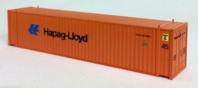 N 45 Ft Corrugated Container Hapag Lloyd (Orange) (01) 04-44113
