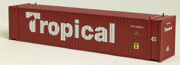 N 45 Ft Corrugated Container Tropical 45 (Brown) (01) 04-44103