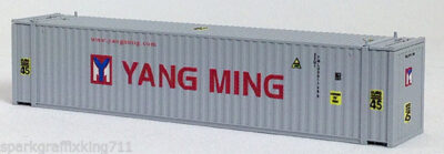 N 45 Ft Corrugated Container Yang Ming Euro 45 (Silver) (01) 4-44101
