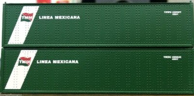 N HI-CUBE 40FT CONTAINER LINEA MEXICANA 2 PACK 0004-043015 (01)