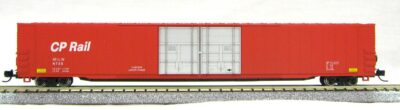 N Scale 4 Door 85 Ft Hi-Cube, CP Rail (with MT couplers) 1-014667