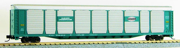 N Scale TriLevel Auto Carrier, New York Central (MT couplers) 114691