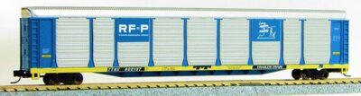 """N Scale Tri-Level Auto Carrier, """"RF&P """" (MT couplers) 1-14693"""