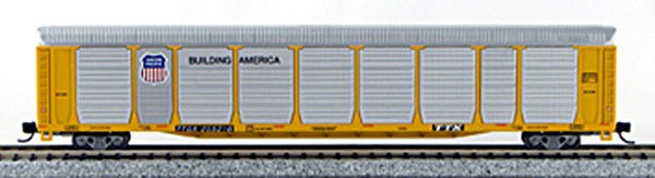 N Scale TriLevel Auto Carrier, Union Pacific (with MT couplers) 114744