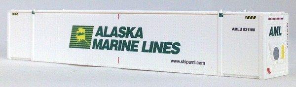 N 53 Ft TK/Reefer Container ALASKA MARINE LINES 2PK (02)