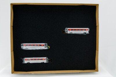 """N Aero Train 3-Coach Car """"Add-On"""" Set """"GM Demonstrator"""""""