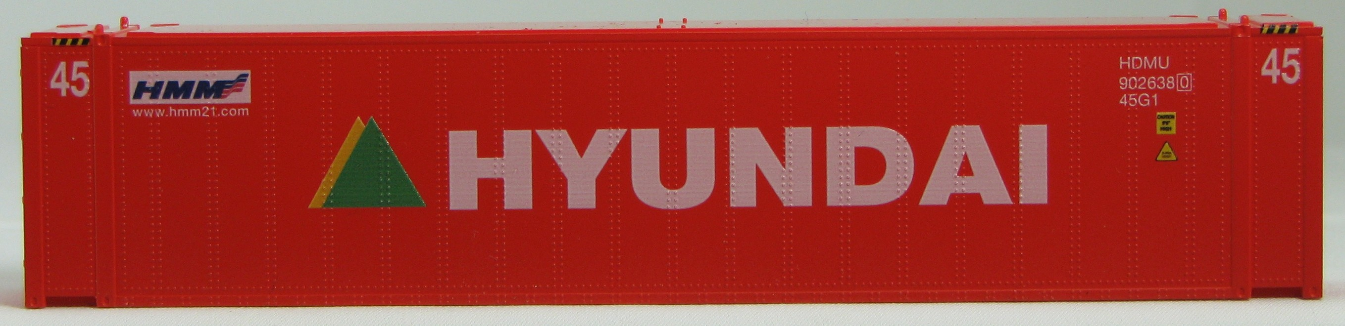 HO 45 Ft Std Container  HYUNDAI  Red2PK (01)