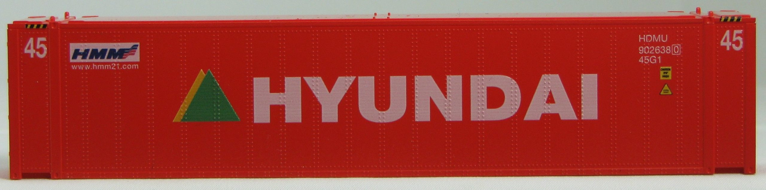HO 45 Ft Std Container  HYUNDAI Red 2PK (02)