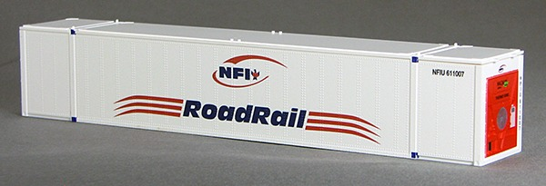 N 53 Ft TK/Reefer Container NFI Transport White 2PK (02)