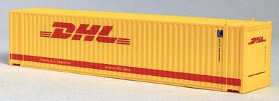 N 45 FT Corr Container DHLTRANSPORT Yellow (01)