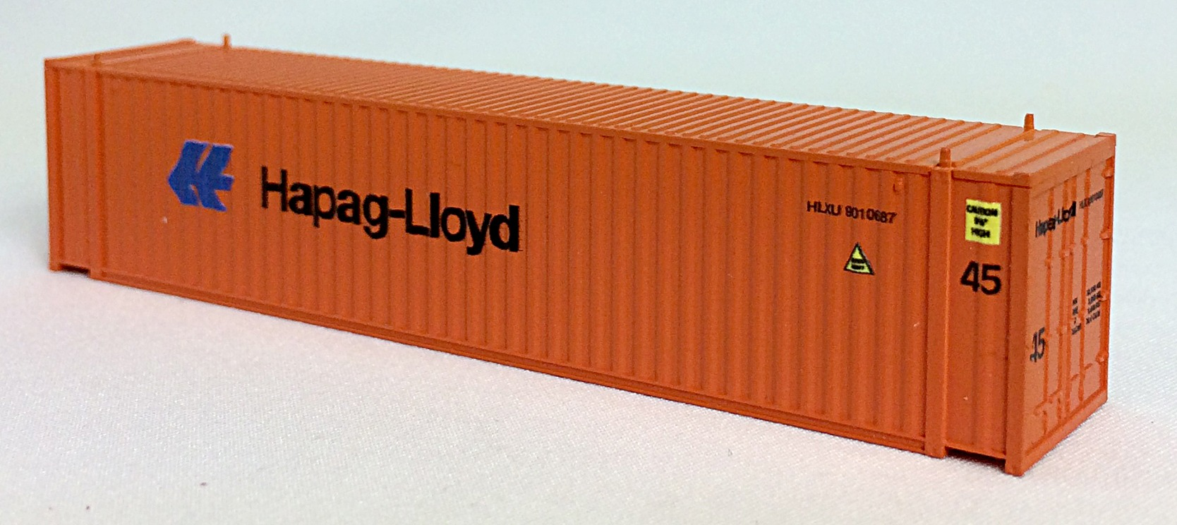 N 45 FT Corr Container HAPAG LLOYD  Orange (02)