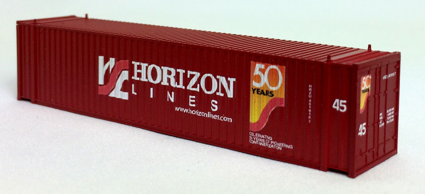 N 45 FT Corr Container HORIZON LINES Brown  (02)