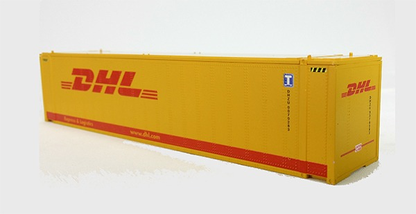 HO 45 Ft Std Container  DHL Express (orange) 2PK (01)