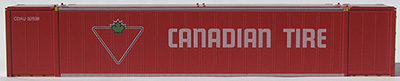 HO 53 Ft Std Container CANADIAN TIRE (RED) 2-pak (02)