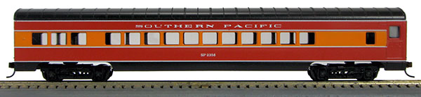HO 72 Ft Passenger Car Coach #2355 Southern Pacific Daylight (1-000902)